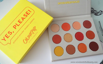 Yes, Please! ColourPop review