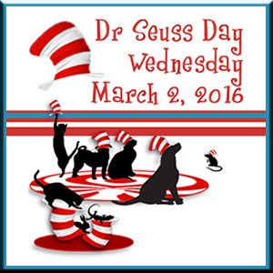 Dr. Seuss Day badge