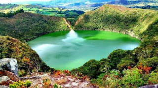 laguna guatavita colombia