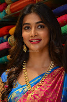 Puja Hegde looks stunning in Red saree at launch of Anutex shopping mall ~ Celebrities Galleries 049.JPG