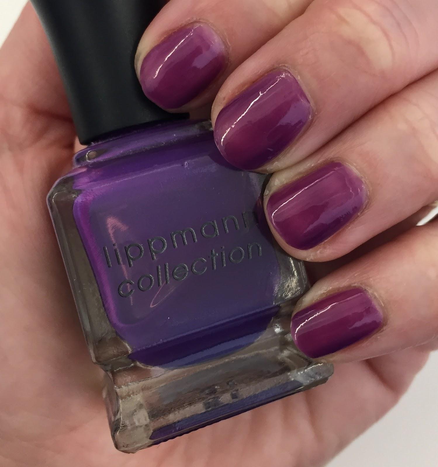 Fashion week Lippmans deborah empire nail polish for woman