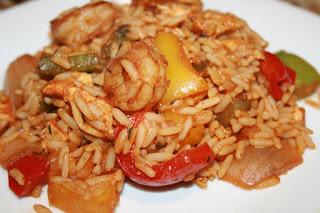 tak ada salahnya jikalau mencoba masak dengan masakan inggris  Resep Makanan Bahasa Inggris Dinner Recipe Chicken And Shrimp Jambalaya