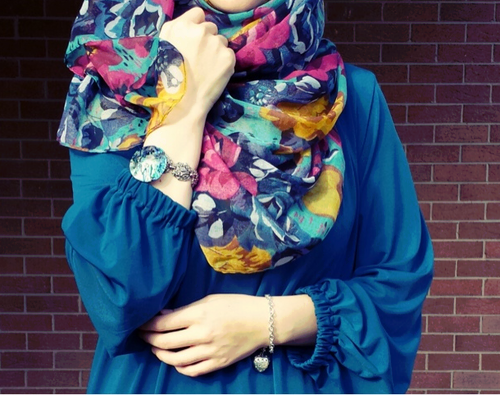 girls in hijab cute and stylish dps for facebook 2016