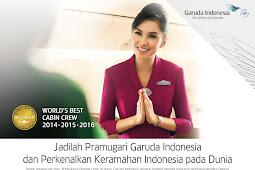Informasi Pendaftaran Lowongan Kerja Pramugari Garuda Indonesia