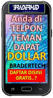 Icon Braderhud ponsel