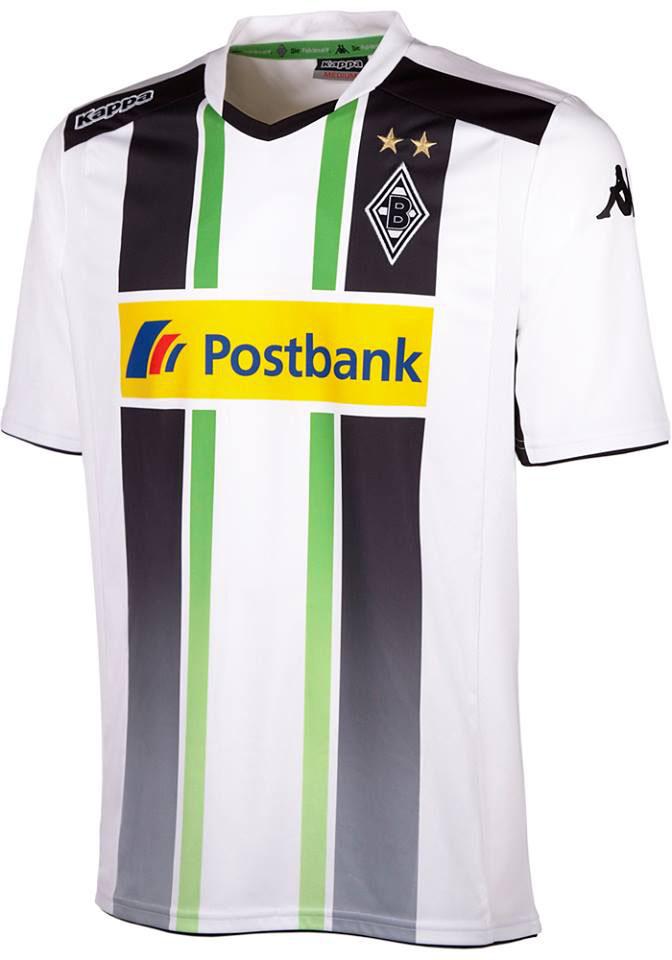 Borussia Mönchengladbach 14-15 Home And Away Kits Released