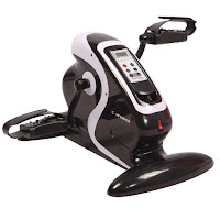 Confidence Fitness Motorized Electric Mini Exercise Bike / Pedal Exerciser, with 1-12 speeds, 5 Auto programs, 1 Manual program