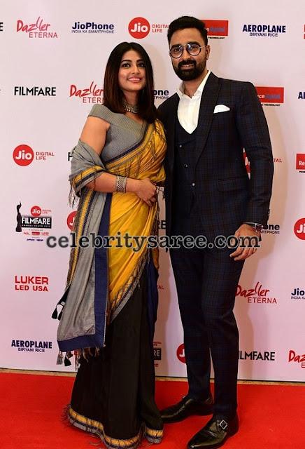 Sneha at Filmfare 2018 Awards