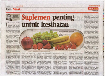 Image result for kenapa supplement penting
