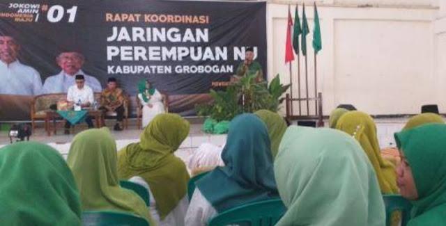 NU Grobogan Ingin Mengulang Sukses Kemenangan Jokowi pada 2014