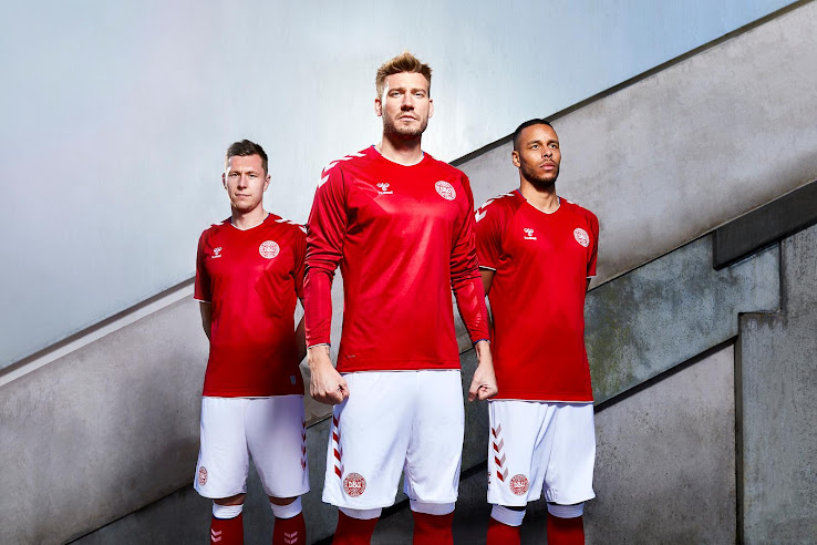 separation shoes 45d5a 1a966 Hummel Denmark 2018 World Cup Home & Away Kits Released ...
