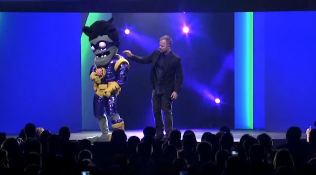 Plants vs. Zombies Zombie EA E3 2015