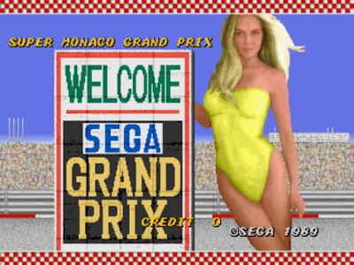 街機:超級摩納哥GP賽車 (Super Monaco GP)+金手指作弊碼,好玩的3D賽車遊戲!
