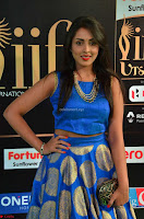 Madhu Shalini Looks Super Cute Slim trim Blue Choli Ghagra IIFA Utsavam Awards 010.JPG