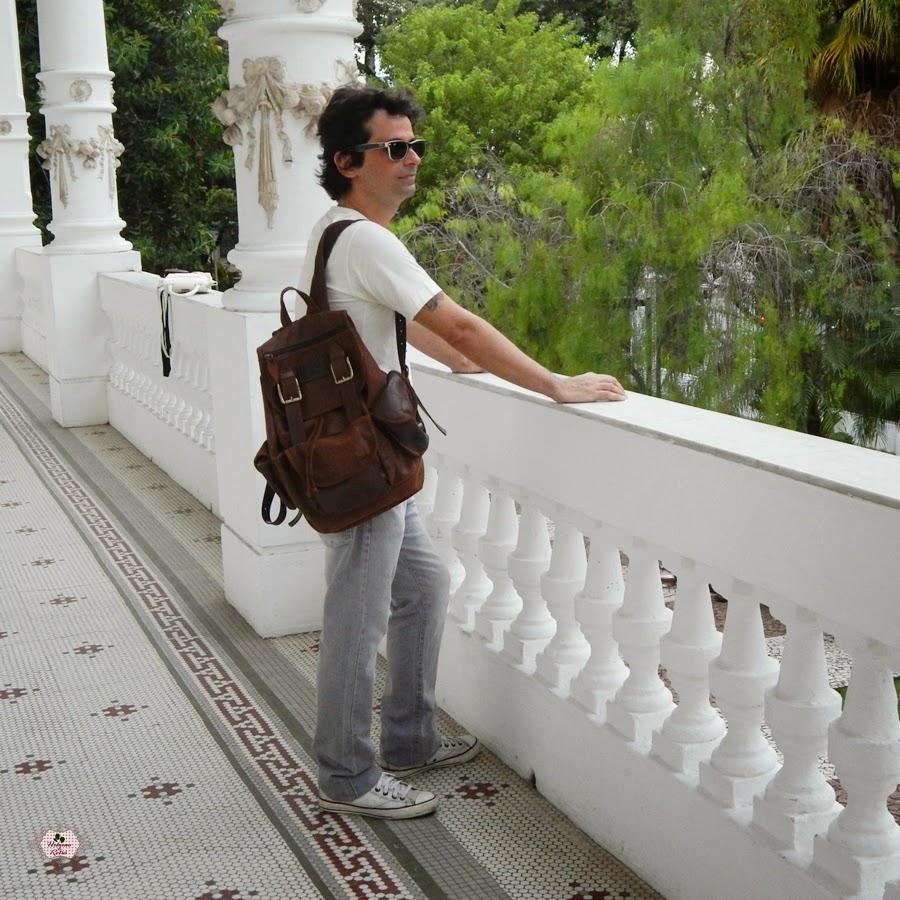 mochila masculina