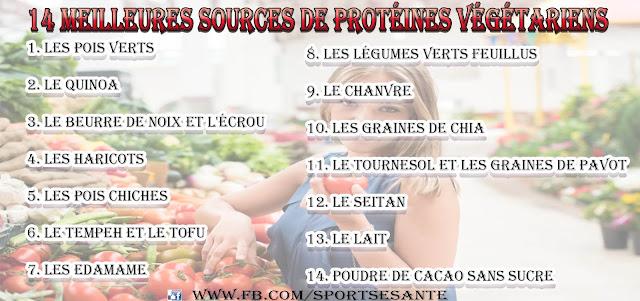 14 Meilleures sources de protéines végétariens