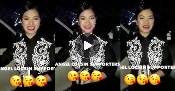 WATCH: Angel Locsin Expresses Her Gratitude For Her Fans' Never Ending Support To Her Showbiz Career