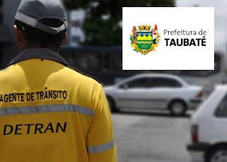 concurso AGENTE DE TRÂNSITO Prefeitura de Taubaté 2018