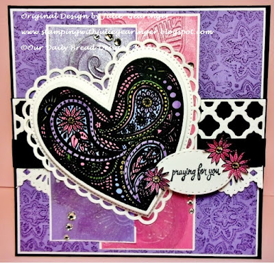 Our Daily Bread Designs, Boho Love, Boho Paisley Background, Doily Blessings, Ornate Hearts, Beautiful Borders, Stitched Ovals, Boho Background, designed by Julie Gearinger