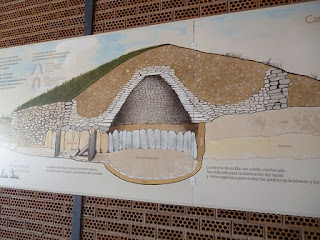 Dibujo interpretativo de la falsa cúpula original