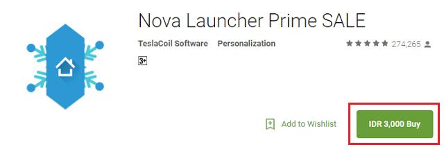 nova launcher prime diskon