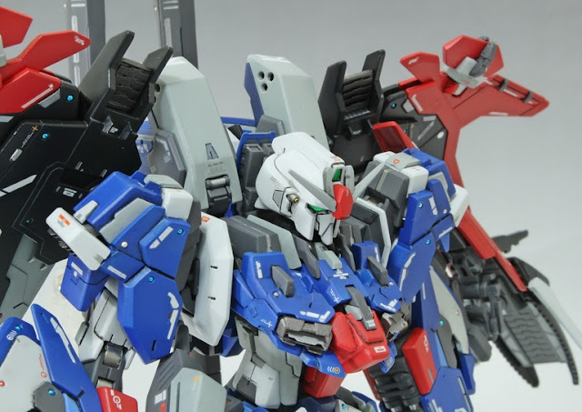 HGBF 1/144 MSZ-006LGT [Ex] Lighting Ex-Z Gundam - Custom Built Gunpla Kitbash