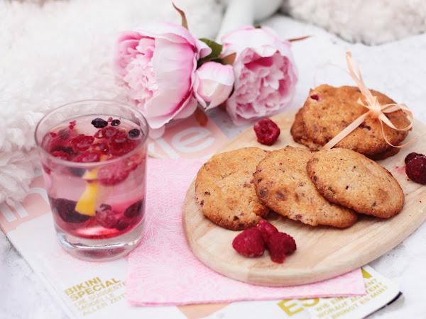 {recipe}  raspberry lemon cookies