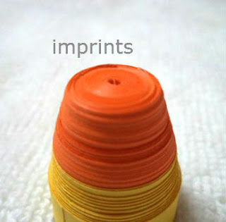 paper quilled container drum