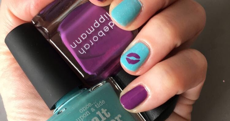 The Beauty Of Life Just Kiss Me Nail Art Featuring Picture Polish