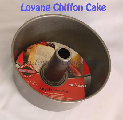 jual Loyang Chiffon Cake Teflon Anti Lengket murah