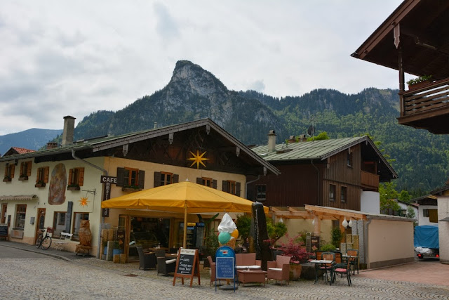 Oberammergau mountains Alps