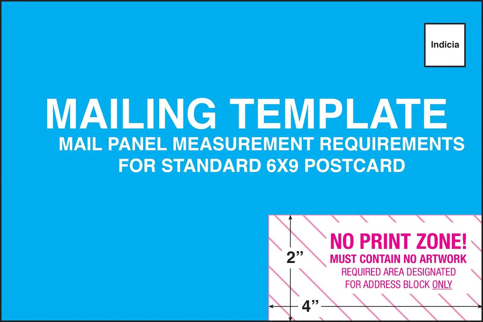 6 x 4 postcard template