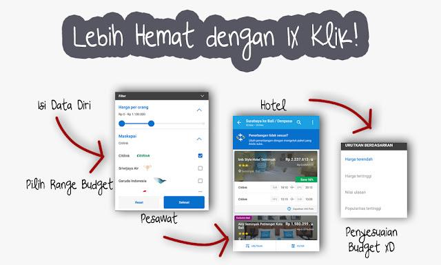 """Hemat Lebih dengan Fitur """"Pesawat dan Hotel"""" di Traveloka Apps"""