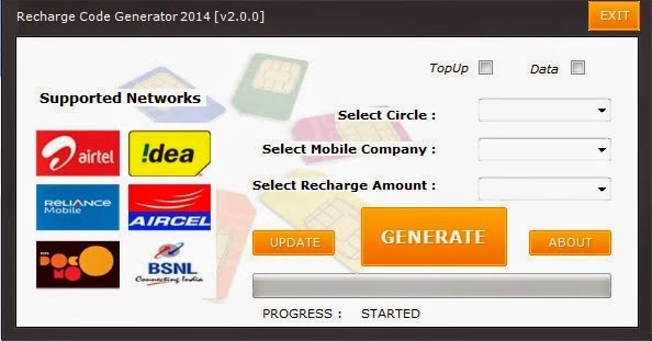 Recharge Coupon Code Generator Software Free Download