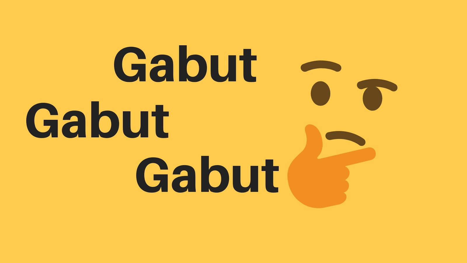 Contoh Gabut