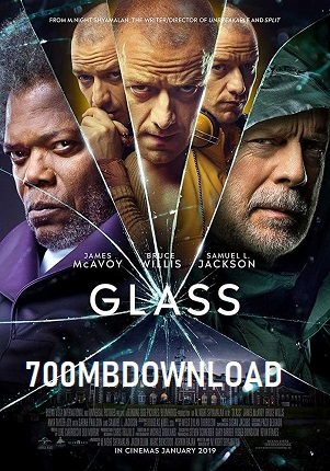 Glass 2019 English 1GB WEB-DL ESubs 720p