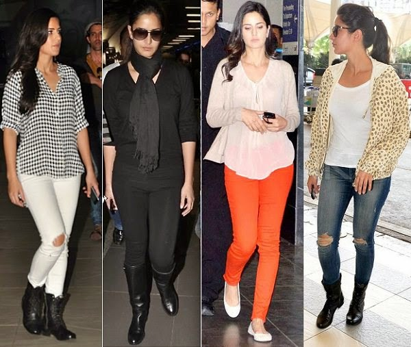 Katrina Kaif looks stylish on airport
