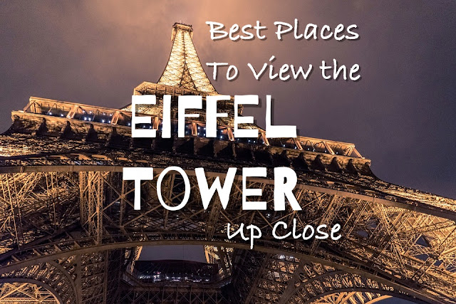 best place to see eiffel tower