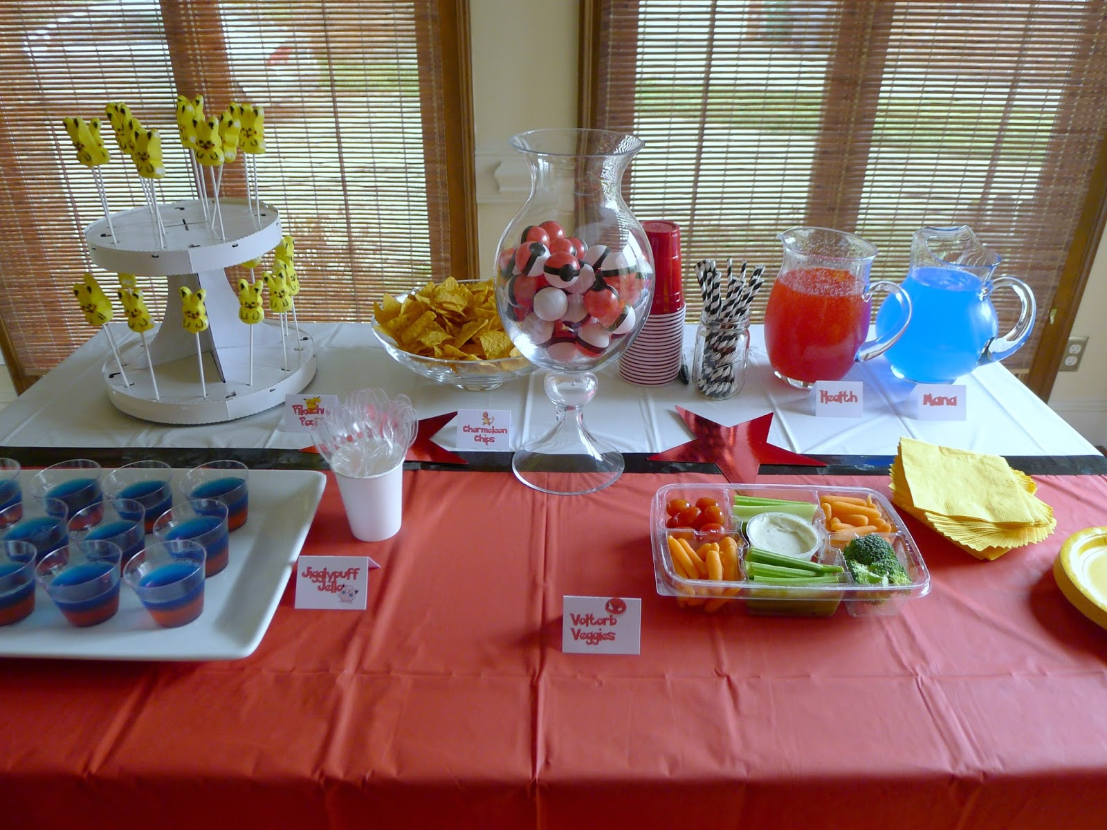 That Mommy Blog Pokemon Birthday Party Food Craft and Game Ideas