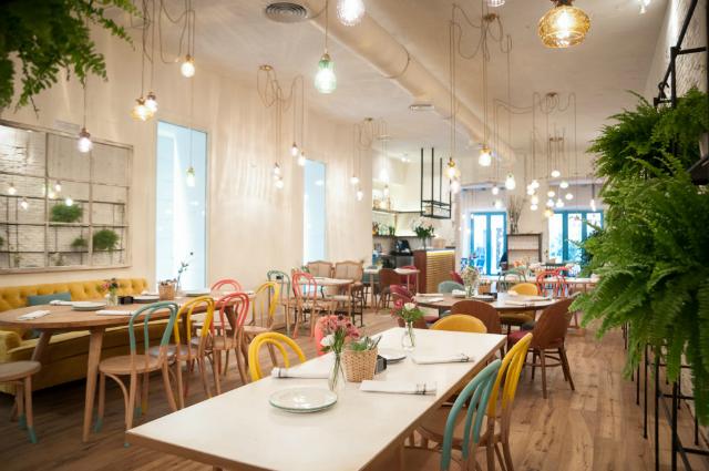 Locales bonitos en Madrid para comer