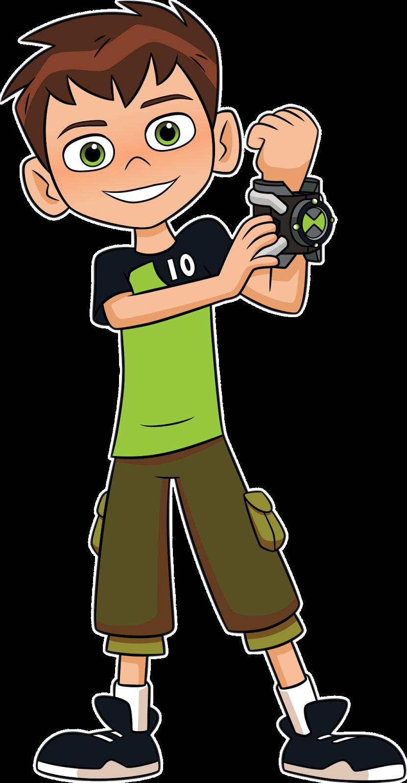 Cartoon Characters Ben 10 Png