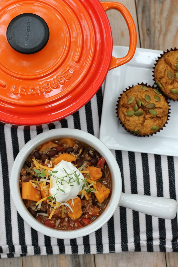 Vegetarian Chili for Two