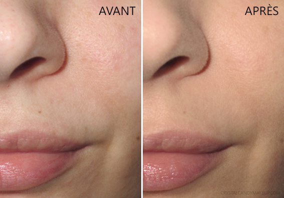 CC Crème Sans Huile Finition Mate Your Skin But Better It Cosmetics Avant Après