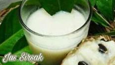 Cara membuat jus sirsak