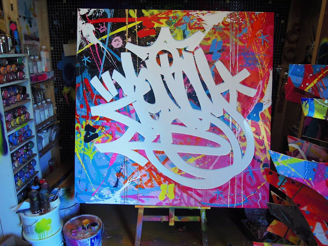 toile colorée de zenoy