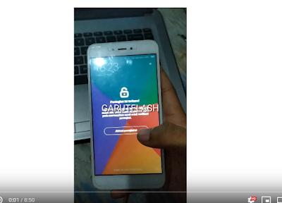 Remove Micloud Redmi Note 5A Ugglite MDT6 Versi China Bandel Berhasil
