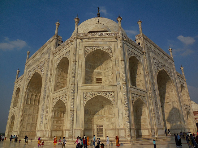 Taj Mahal from a different angle