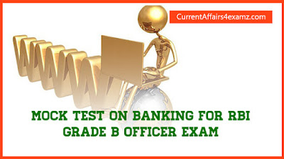 Mock Test for RBI Garde B Exam