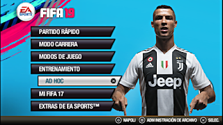 FIFA 19 Android PSP Offline 600 MB New Kit,Transfers