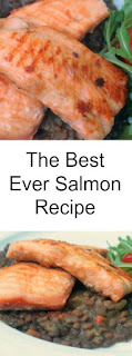The best ever and simplest way to cook good salmon every time